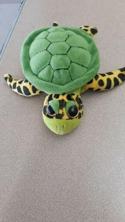 SEA TURTLE  - New Stuffed Animal Toy - Finger Puppet