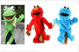 Sesame Street Plush Stuffed Animal Elmo Cookie Kermit Frog M