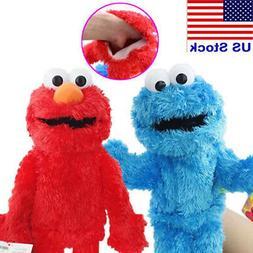 Sesame Street Plush Stuffed Animal Elmo Cookie Monster Hand