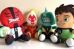set of 4 ben 10 cartoon network