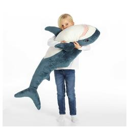 IKEA  Shark BLÅHAJ Soft toy Stuffed Animals kids Big Huge J