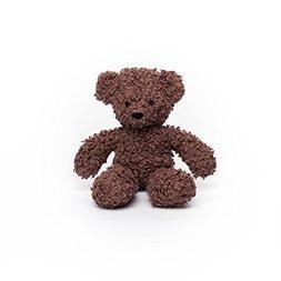 Bears for Humanity Organic Baby Sherpa Plush Animal Toy, Dar