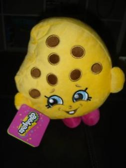 """Shopkins Chocolate Chip Kooky Cookie Plush 8"""" Pillow and Thr"""