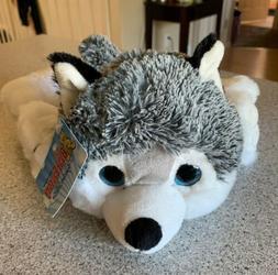 "SIBERIAN HUSKEY Dog Plush Blue-Eyes Stuffed Animal 10.5"" The"