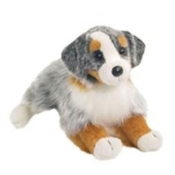 16 Inch Sinclair Australian Shepherd Dog Plush Stuffed Anima