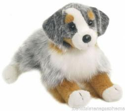 "SINCLAIR AUSTRALIAN SHEPHERD Douglas Cuddle 13"" stuffed plus"