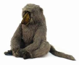 Sitting Large Adult Baboon Plush Stuffed Animal