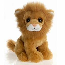 """Fiesta Toys Big Eye Animal Plush-9"""" Lion, Lamane"""