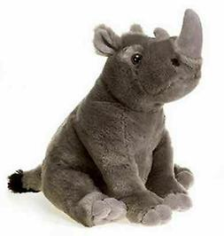 10 Inch Sitting Rhino Plush Stuffed Animal by Fiesta