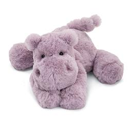 Jellycat Smudge Hippo Stuffed Animal, 14 inches