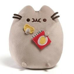 "Gund Snackable Pusheen Potato Chip Snack 9.5"" Stuffed Toy Pl"