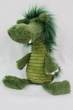 Jellycat Snaggle Baggle Dragon Plush Stuffed Animal NWT