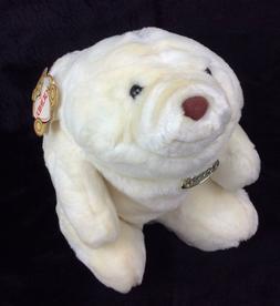 GUND Snuffles White Bear 1980 #2166 Tags Plush Stuffed Anima