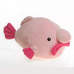snugglies pink blob fish stuffed
