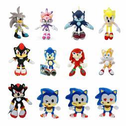 Sonic The Hedgehog Emoji Figures Plush Toys Stuffed Animal D