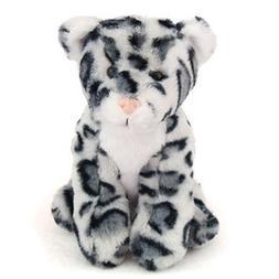"6"" Sophie The Snow Leopard Stuffed Animal Beanbag Lil' Buddi"