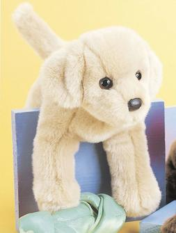 "Douglas Spankie YELLOW LAB 12"" Plush Labrador Retriever Stuf"