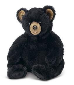 "Bearington Spirit Plush Stuffed Animal Black Bear Teddy, 18"""
