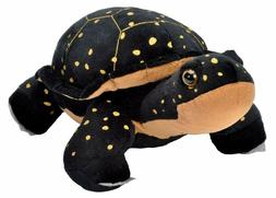 Wild Republic Spotted Turtle Plush, Stuffed Animal, Plush To