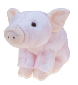 PuzzledSquat Piggy Super-Soft Stuffed Plush Cuddly Animal To