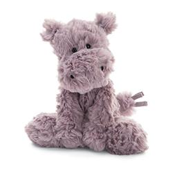 Jellycat Squiggle Hippo Stuffed Animal, Small, 9 inches