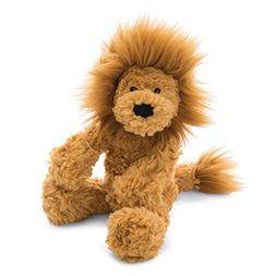 Jellycat Squiggle Lion Stuffed Animal, Small, 9 inches