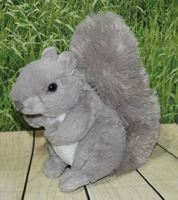 Wild Republic Squirrel Plush, Stuffed Animal, Plush Toy, Gif