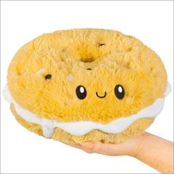 Squishable Comfort Food Cream Cheese Everything Bagel plush