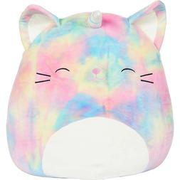 Squishmallow 16 inch Rainbow Cati-Corn Stuffed Animal Super