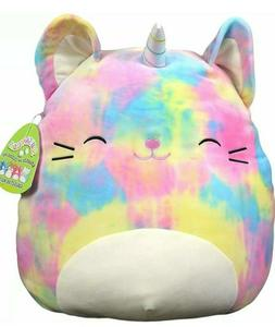 Squishmallow 16in, Cali The Caticorn,Stuffed Animal, Super P