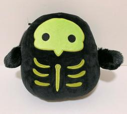 "Kellytoy Squishmallow 2020 Halloween 8"" Serge Skeleton Plush"