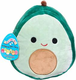 "Squishmallow 8"" Austin The Avocado Plush Toy, Super Pillow S"