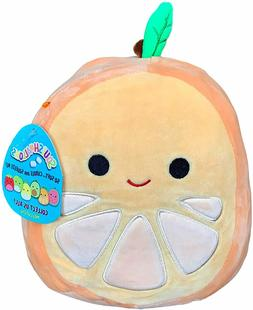 "Squishmallow 8"" Orin The Orange Plush Toy, Super Pillow Soft"