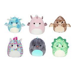 "Squishmallow Kellytoy Assorted Animals 5"" Mini Plush Doll Se"