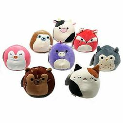 "Squishmallow Original Kellytoy 5"" 4 Pack Super Soft Plush To"