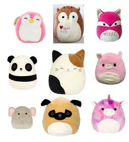 Squishmallow Stuffed Animal Pet Soft Plush Pillow Gift Toy G