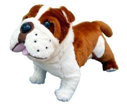 "ADORE 14"" Standing Buddy the Farting Bulldog Plush Stuffed A"