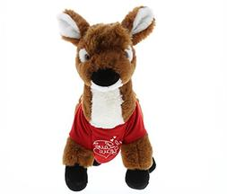 Dollibu Large Standing Deer I Love You Valentines Stuffed An