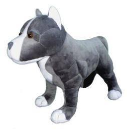 """ADORE 13"""" Standing Hope the Pit Bull Dog Stuffed Animal Plus"""