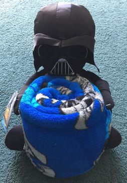 NEW WITH TAG Disney Star Wars Darth Vader Hugger Throw/Blank