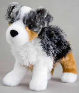 "STEWARD AUSTRALIAN SHEPHERD Douglas Cuddle 7"" stuffed plush"