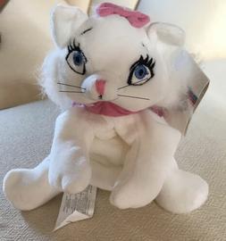"Disney Store Aristocats Marie Cat Mini Bean Bag Plush 7"" Stu"