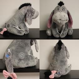 "Disney Store Authentic Eeyore 12"" Plush Animal Toy Winnie th"