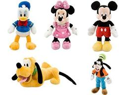 Disney Store Deluxe Plush Bean bag Mickey Mouse and Friends