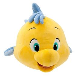 "Disney Store Jumbo 23"" Flounder Plush Stuffed Animal Doll To"