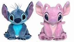 Disney Store Stitch & Angel Mini Plush Doll Set - Lilo & Sti