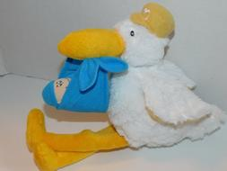 Stork Baby Boy Shower Its A Boy Plush Stuffed Animal About 1