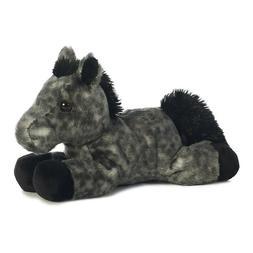 Storm Black Horse Mini Flopsie 8 by Aurora
