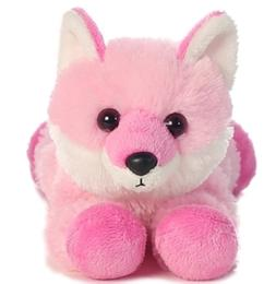Strawberry Pink Fox Mini Flopsie 8 by Aurora