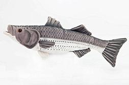 "Striped Bass 10"" Stuffed Plush Animal - Cabin Critters Fresh"